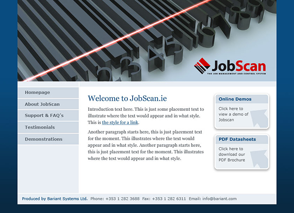 JobScan Software