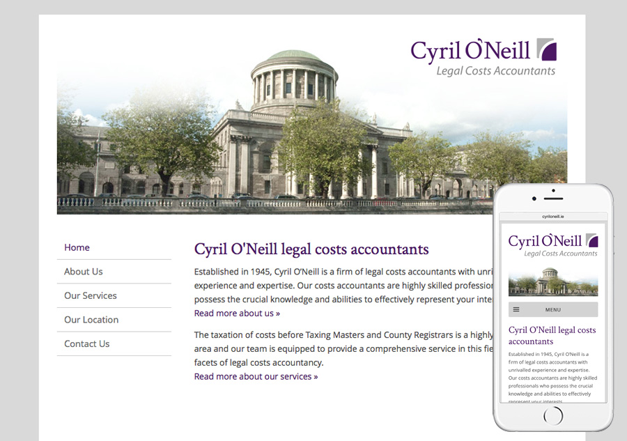 Cyrill O'Neill legal costs accountants