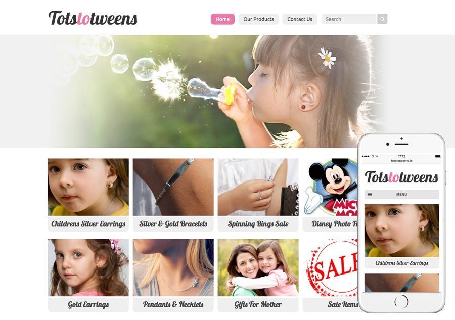 Tots to Tweens Jewellery